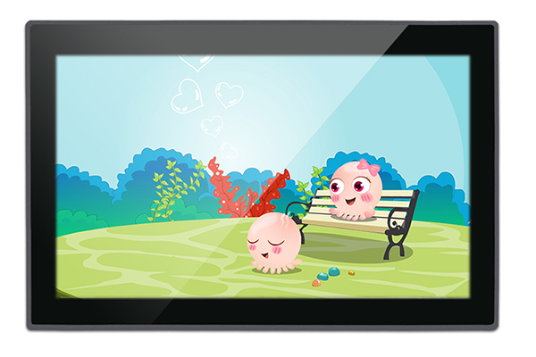10.1 Inch Zero Bezel PCAP Touch Industrial Panel PC